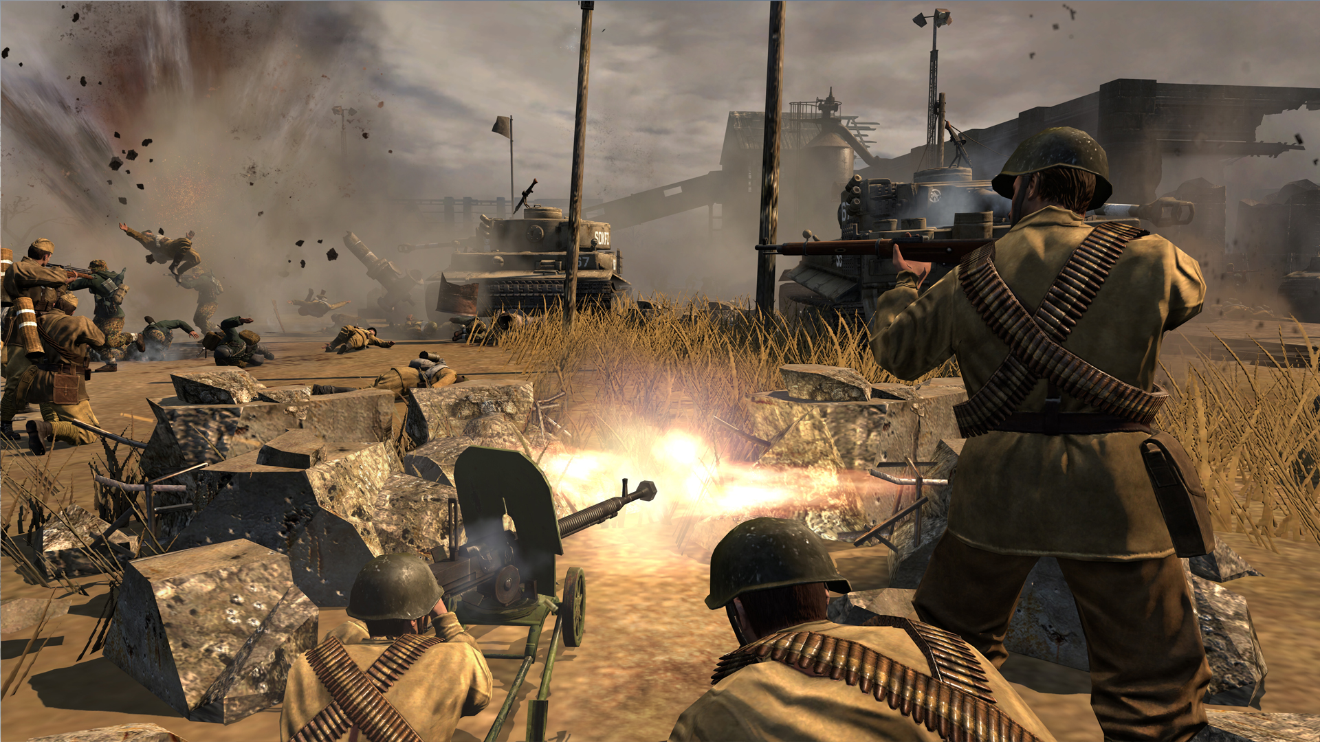 First Contact Company Of Heroes 2 Single Player Campaign Coh2 Org