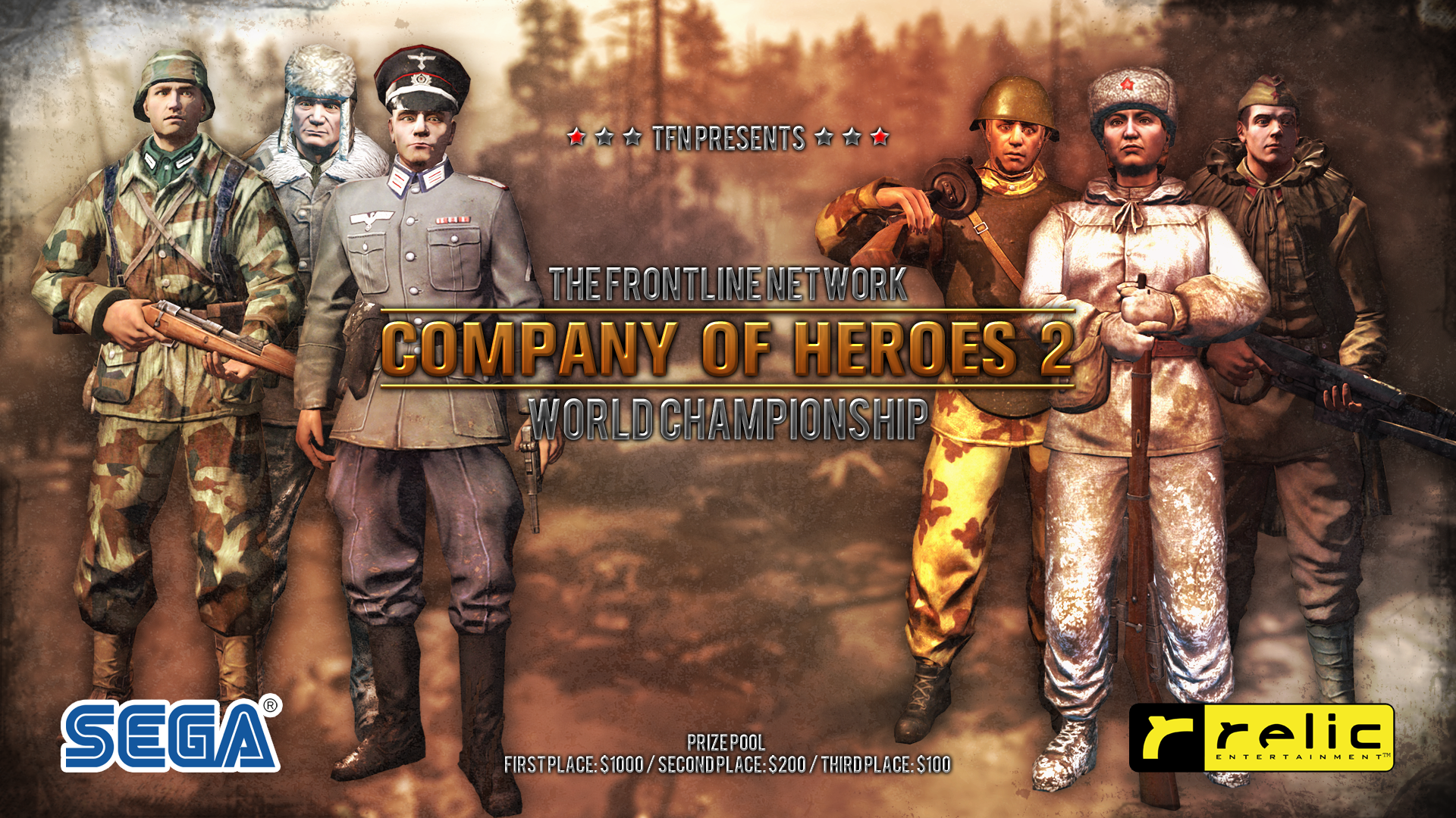 Tfn World Championship Broadcast Shows Company Of Heroes 2