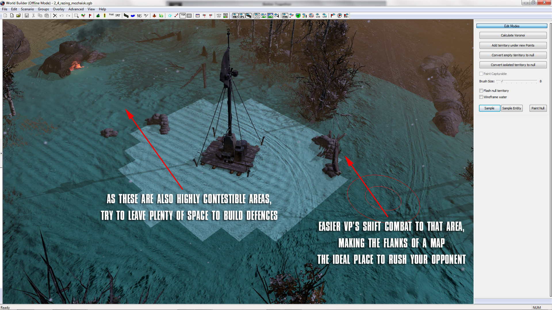 Worldbuilder totw12 capturable area coh2 you consider building room where bunkers walls and other defences can easily be built allowing the creation of a fair balanced sector gumiabroncs Gallery