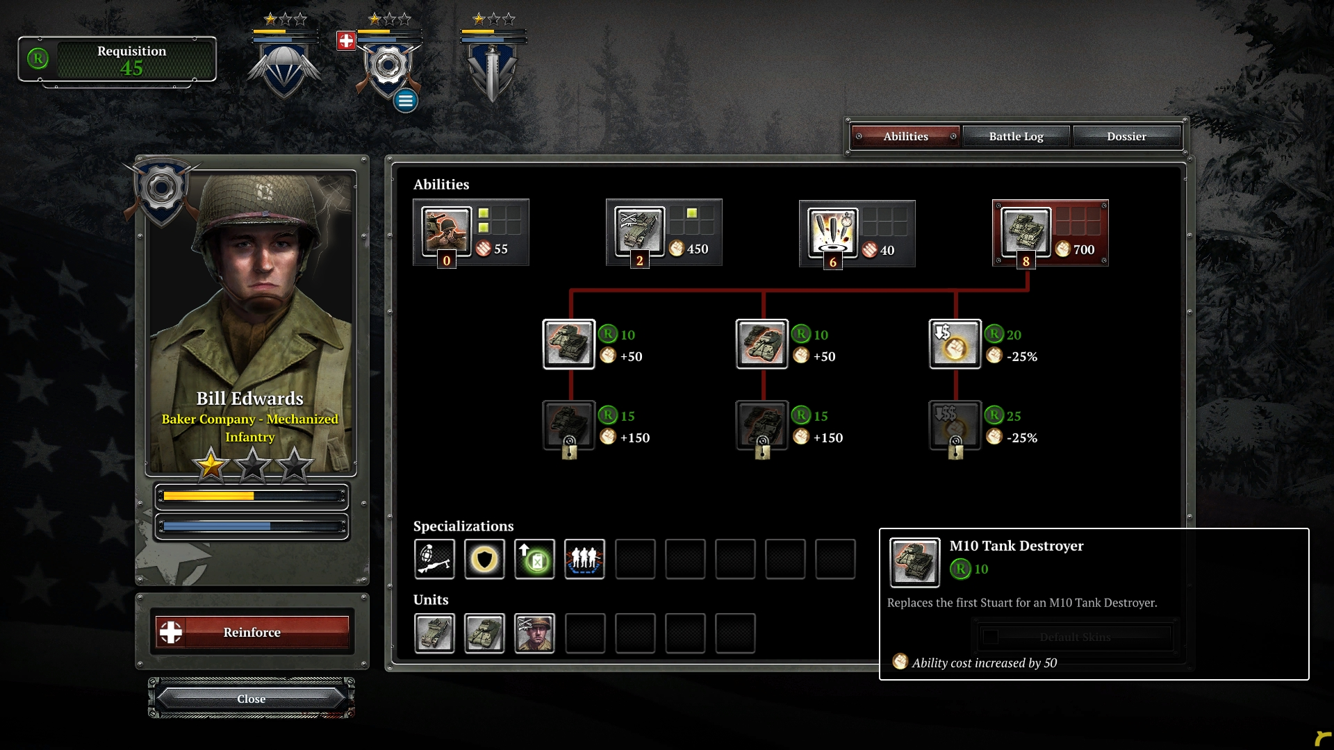 coh2 aa company customization - Company of Heroes 2: Ardennes Assault Review