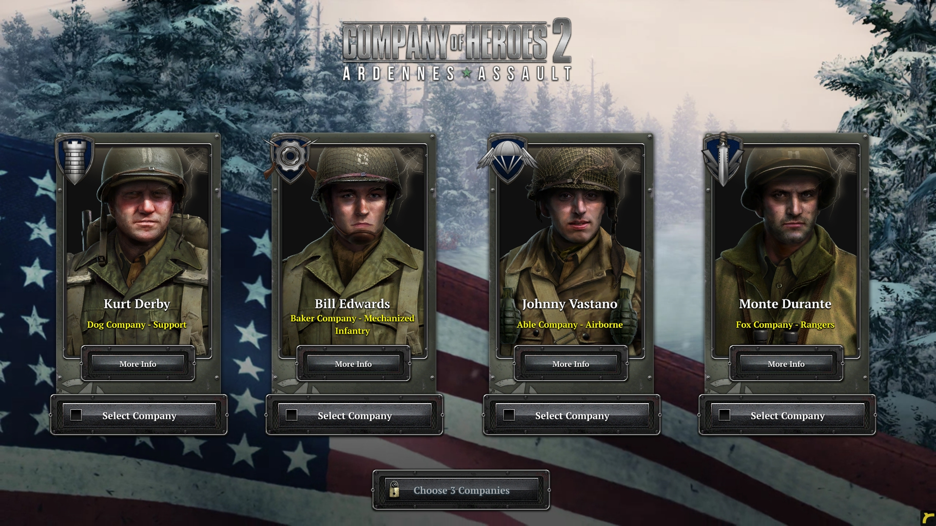coh2 aa company selection - Company of Heroes 2: Ardennes Assault Review