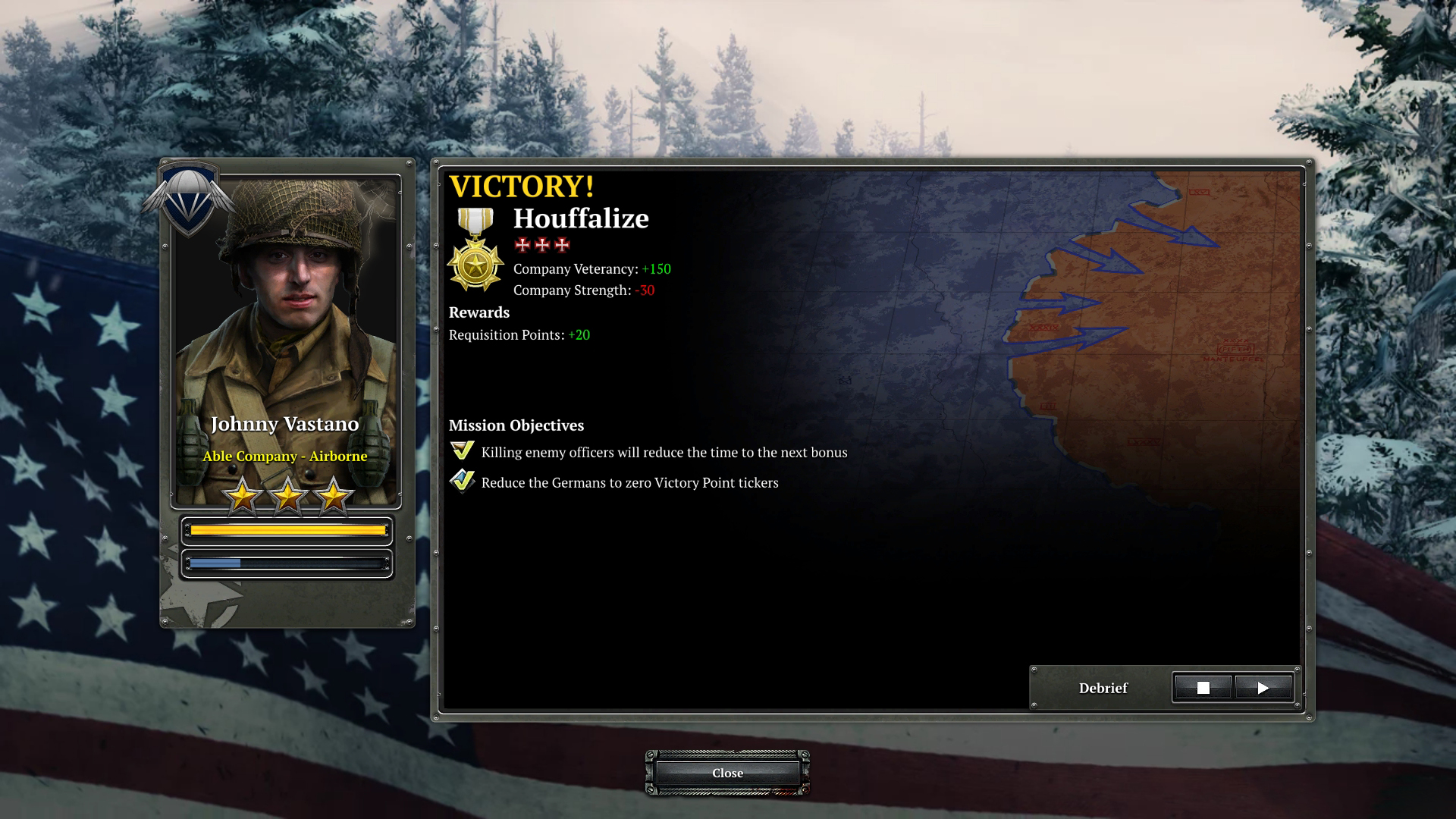 coh2 aa houffalize postmission - Company of Heroes 2: Ardennes Assault Review