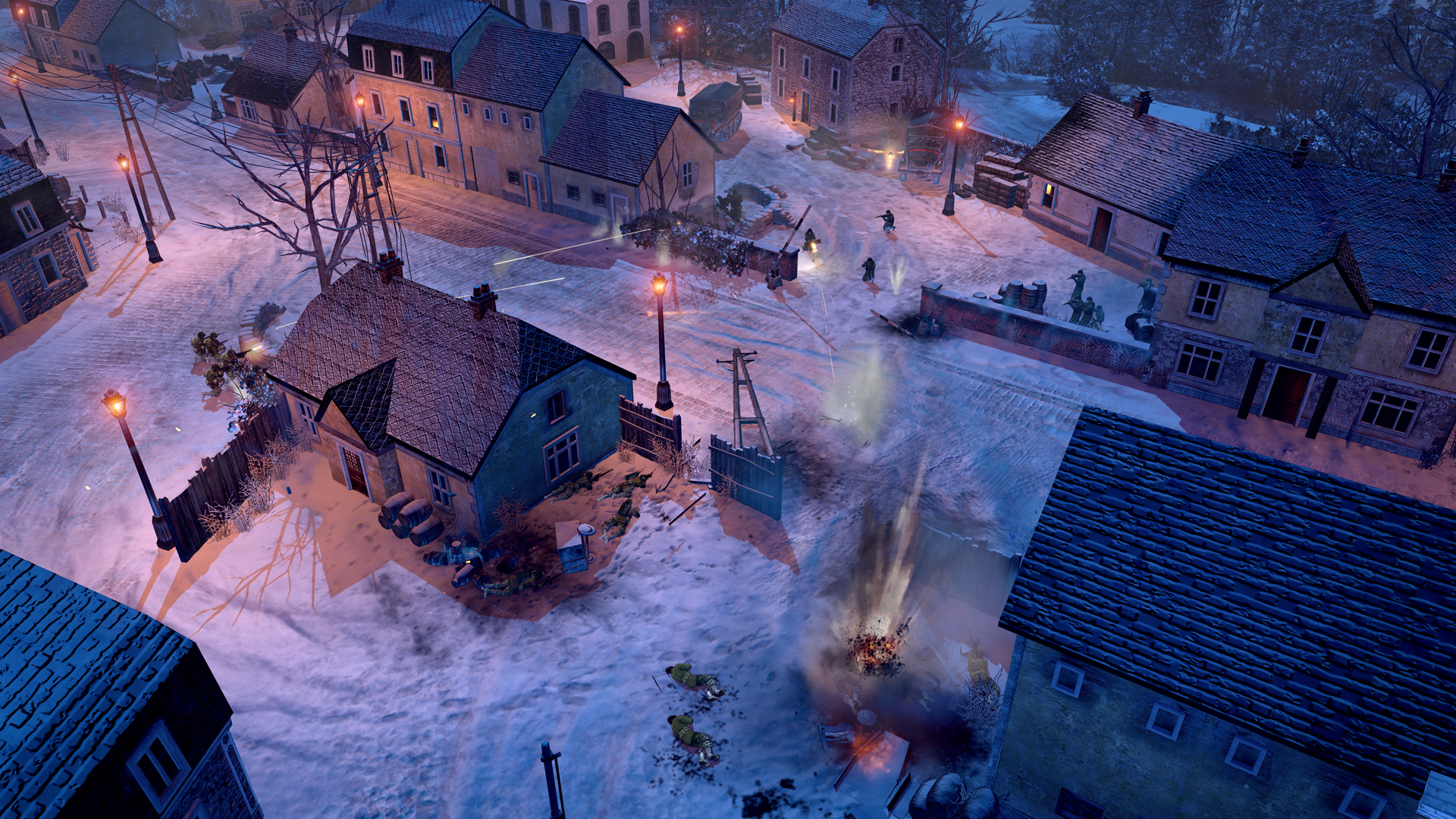 aa screenshot 1 - Company of Heroes 2: Ardennes Assault Review