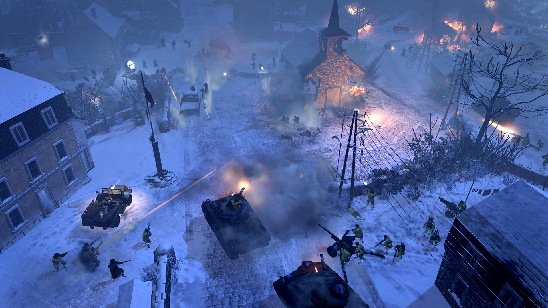 aa screenshot 2 - Company of Heroes 2: Ardennes Assault Review