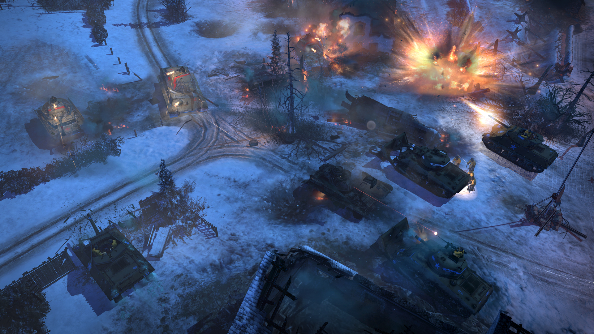 aa screenshot 3 - Company of Heroes 2: Ardennes Assault Review