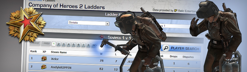 Company Of Heroes 2 Ladders Go Live Coh2 Org